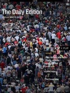 Ebola spreads, Gone Girl released and photos of the week. Check out today's edition: flip.it/dailyedition