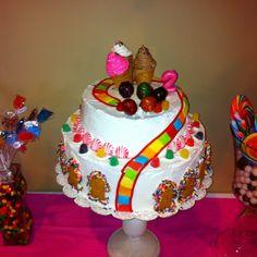 Candyland cake!!