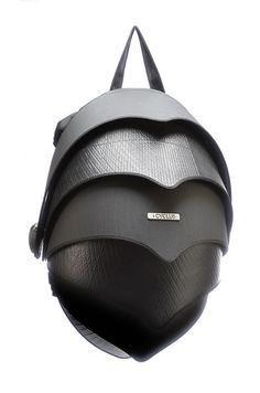 The Cyclus Pangolin Backpack is a good example of what great designers can achieve using materials overlooked by everyone else, the unique looking backpack