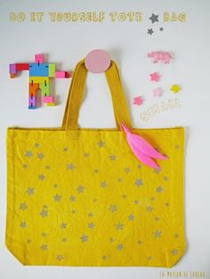DIY Tote star Bag by La maison de Loulou