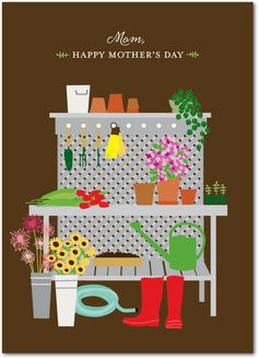 Gardening Goddess - Mother's Day