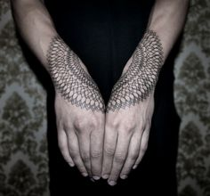 """DotsToLines"" Modern Art Tattoo Artist Chaim Machlev. Also: Dots To Lines."
