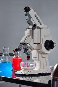 work, carl merriam, toy, lego microscop, gadget, lego creation, geeki stuff, legos, geeks