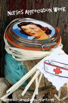 Nurses Week Appreciation Gift or Present DIY