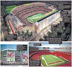 The New San Francisco 49ers Levi's Stadium - Conco Companies