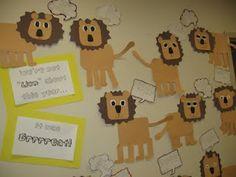 Mural de lleons. safari theme, idea, houses, zoo anim, jungl, lions, learning, crafts, second grade