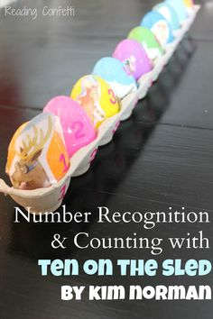 "Number recognition & counting ("",)"
