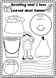 Summer Writing Worksheets K-1 - 73 pages   http://www.teacherspayteachers.com/Product/Summer-Writing-Worksheets-K-1-73-pages-708447