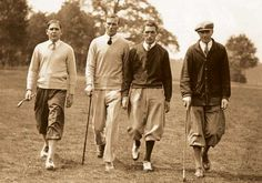 Golf.. the old days