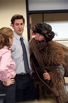 """Dwight Christmas"" / The Office / #TheOffice"