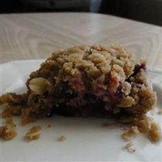 Saskatoon Berry Cream Cheese Crumb Cake Allrecipes.com