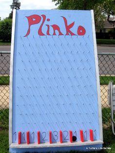 Plinko! So easy to make...may take a little time though