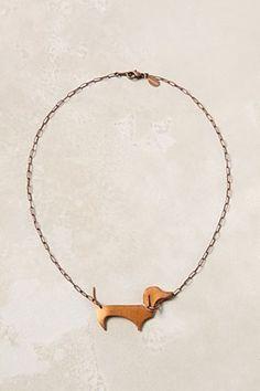 dog necklace!