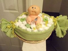 baby shower ideas | Baby Bath Diaper Cake - 10 Creative Diaper Cakes for a Baby Shower.