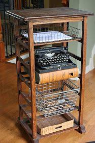 """Mamie Jane's: My """"New"""" Printer Stand"""