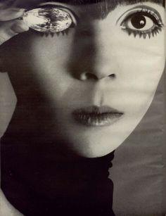 Penelope Tree, Vogue, 1967.  Richard Avedon.