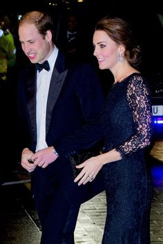 The Duke and Duchess of Cambridge arrive at the Royal Variety Performance || November 13 2014