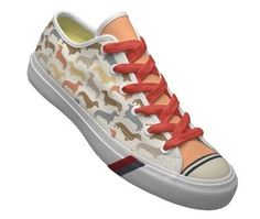 Dachshund sneakers! cool!