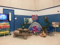 Woah! Park Ridge Elementary with a phenomenal Camp High Five display!