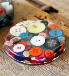 How to Make a Paperweight or Coaster | Crafts for Home | Decor Craft — Country Woman Magazine