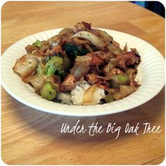 Cabbage Chicken Stir Fry - tasty #recipe from @theBigOakTree