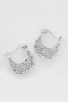Amberly Earrings in Silver