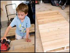 DIY {pallet reading bed for the nursery} » ashleyannphotography.com