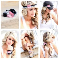 The different ways to wear a fashion head band by Rags Clothing