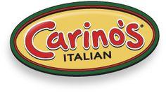 Carino's Italian restaurant GF menu.