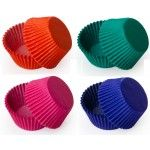 Solid Color Cupcake Liners, MINI Size Baking Cups BULK - 500 Liners (9 Colors Available!)