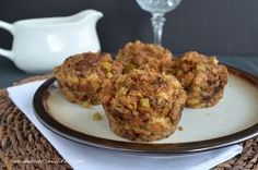 Stuffing Muffins #ThanksgivingRecipes