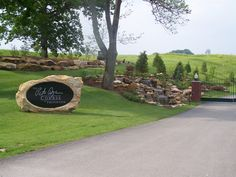Entrance to the Pete Dye at French Lick