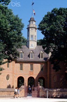 Colonial Williamsburg, Virginia--House of Burgesses