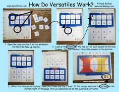 How to use Versatiles as a literacy center.