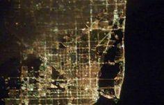 night view : Miami, Florida