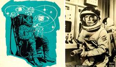 space art, space programm, awesom space, vintag space