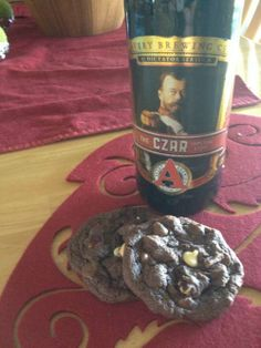 Imperial Stout Triple Chocolate Cake Mix Cookies