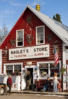 Talkeetna Alaska Photograph  - Talkeetna Alaska Fine Art Print