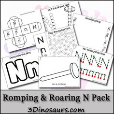 Free Romping & Roaring N Pack - 3Dinosaurs.com