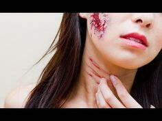 ▶ How To; Fake Wound/Cut Tutorial (Easy) - YouTube