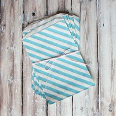 striped party bags