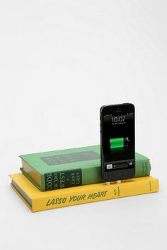Vintage Book iPhone 5/5s Charging Dock #urbanoutfitters