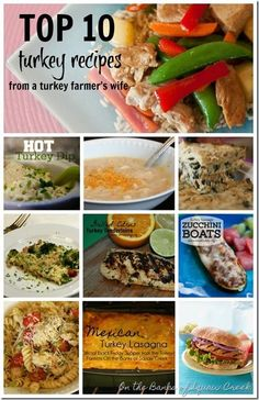 10 Favorite Turkey Recipes by On the Banks of Squaw Creek