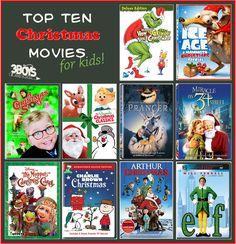 Top 10 Christmas Movies List (for Kids)