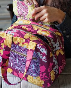 two compartments bag