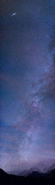 Horseshoe Park Milky Way with Andromeda Galaxy | Flickr - David Kingham