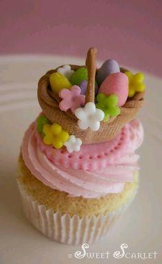 Lovely Easter cupcake