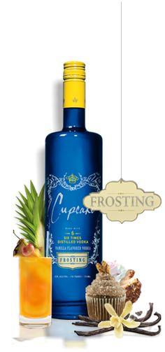 Cupcake Vodka | Original, Chiffon, Frosting & Devil's Food...