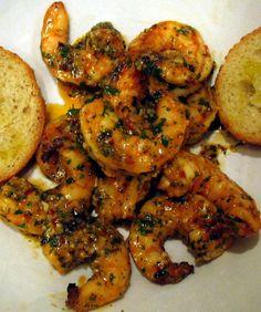 Spicy Lemon Garlic Grilled Shrimp