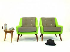 Neon chairs!